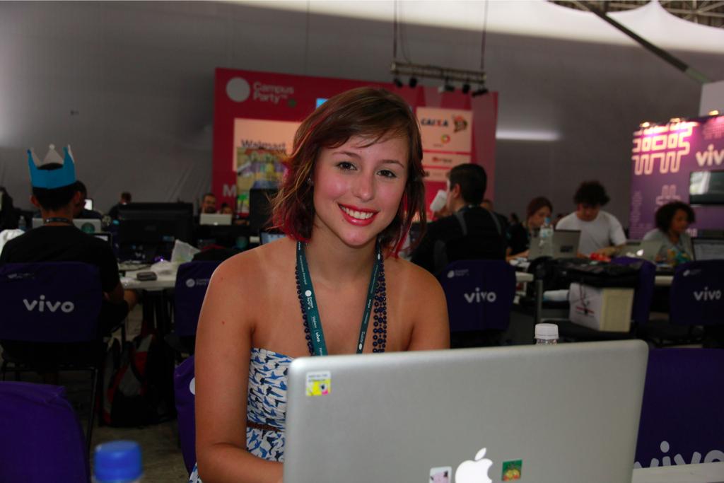 Gatas Campus Party 2012