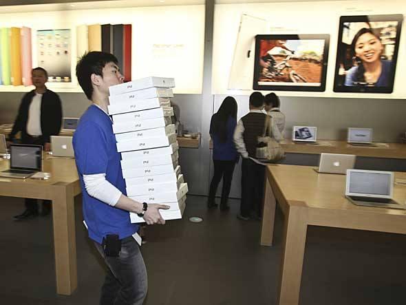 Chineses processam Apple