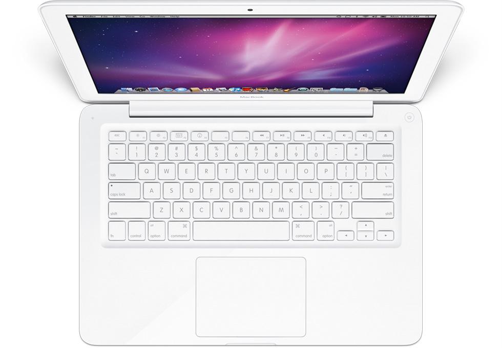 R.I.P Macbook White (Foto: Reprodução)