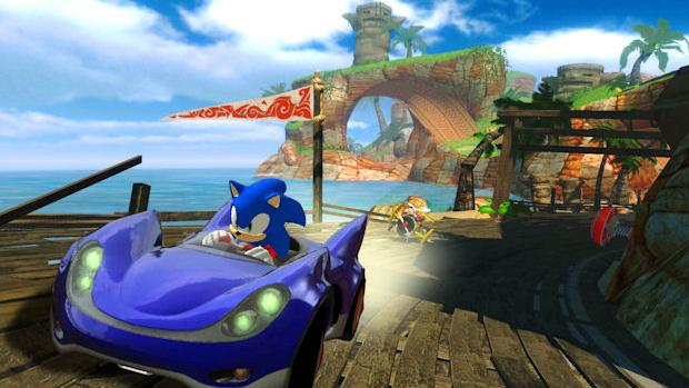 Sonic & Sega All-Stars Racing (Foto: Divulgação)