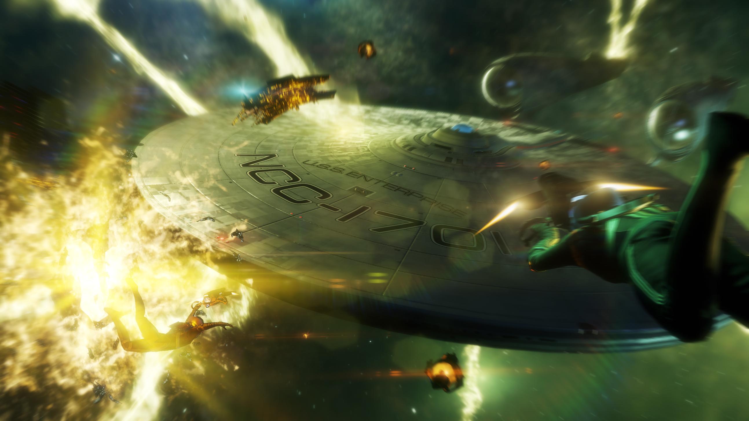 Arte conceitual do novo Star Trek (Foto: Reprodução)
