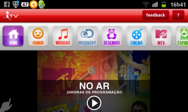 Claro lança o Ideias TV para smartphones e tablets (Foto: Eduardo Moreira/TechTudo)