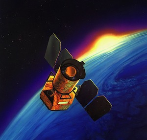 Satélite da NASA (Foto: Divulgação/NASA)