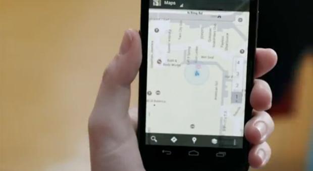 Google cria comercial especial para o Valentine's Day em que casal usa o Google Maps em um encontro (Foto:Reprodução)