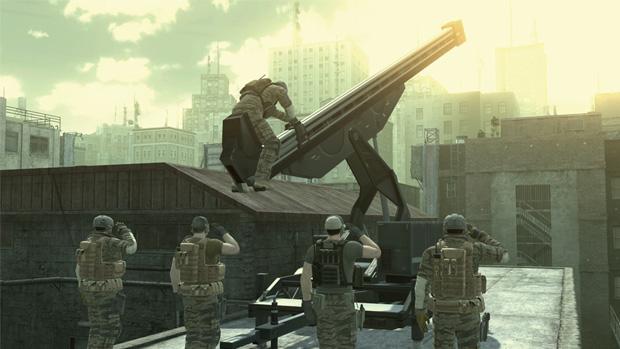 Metal Gear Online (Foto: Divulgação) (Foto: Metal Gear Online (Foto: Divulgação))