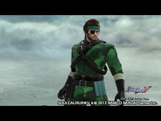 Snake em SoulCalibur V (Foto: Reprodução)