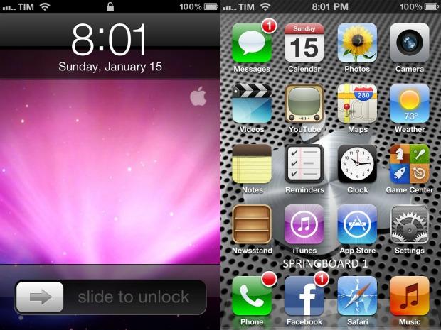 O sistema operacional iOS é quem dá vida às funcionalidades e aplicativos do iPhone (Foto: Reprodução)