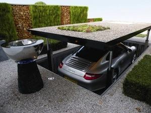 Garagem para mais de um carro (Foto: Divulgação)