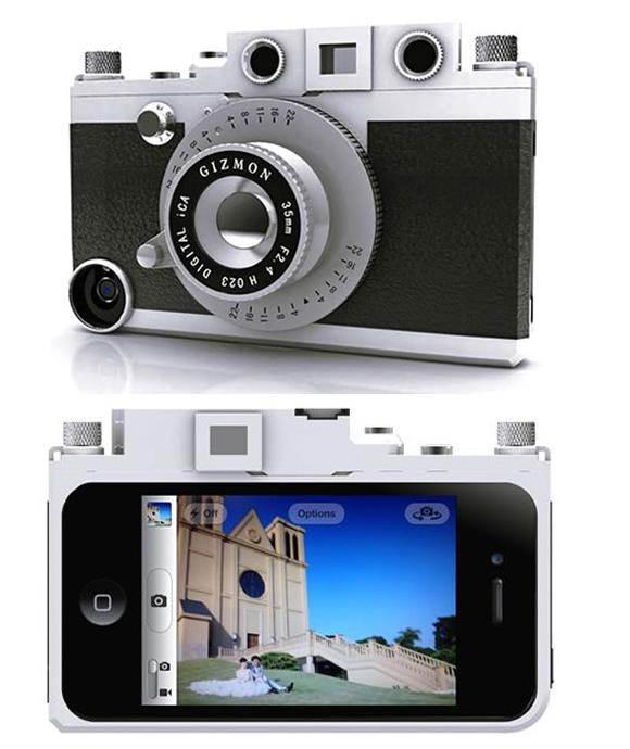 O case remete a uma câmera fotográfica analógica (Foto: Divulgação)