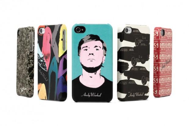Cases inspirados nas obras de Andy Warhol (Foto: Divulgação)