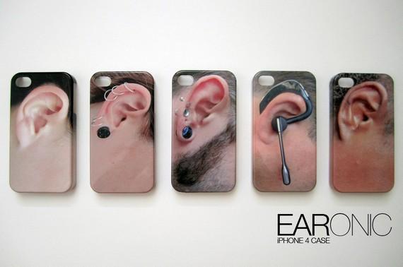 O EARonic conta com designs inusitados de orelhas  (Foto: Divulgação)