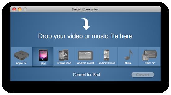 Convertendo para iPad com o Smart Converter (Reprodução)