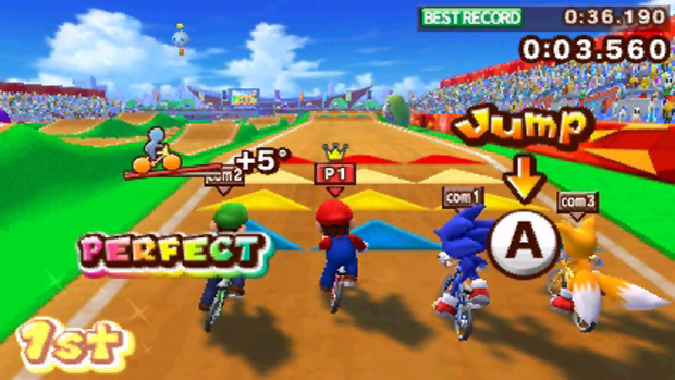 Mario & Sonic at the London 2012 Olympic Games (Foto: Divulgação)