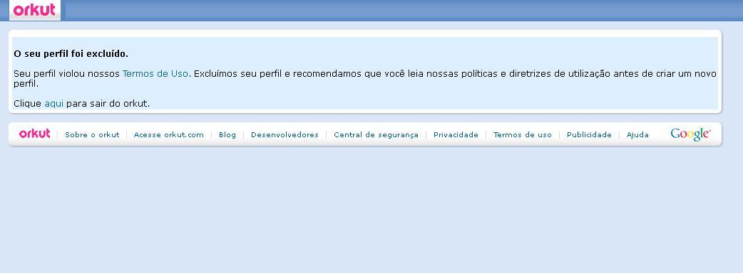 Orkut denúncia (Foto: Reprodução/Monique Idiota)
