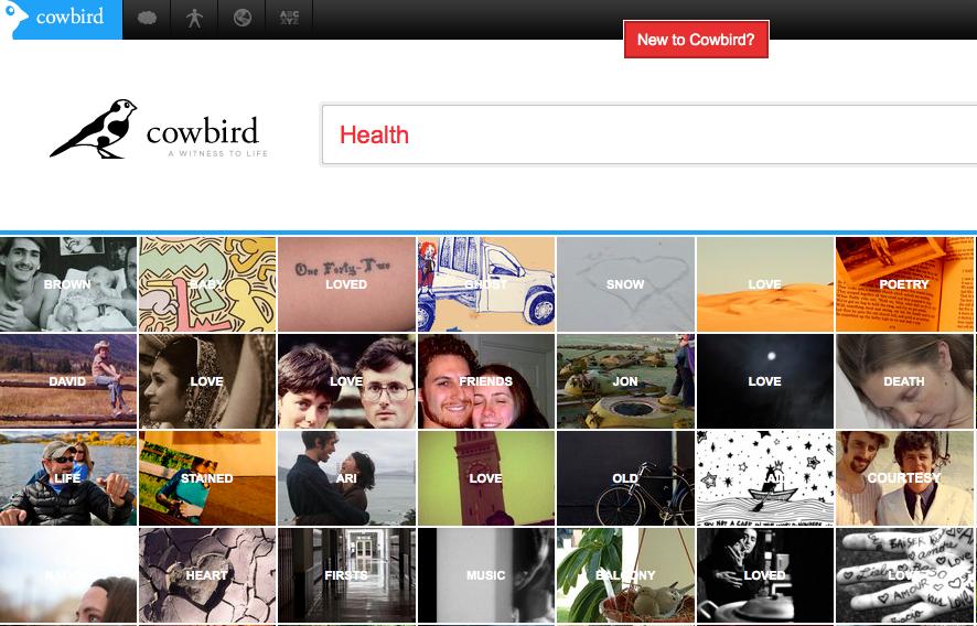 Cowbird, a nova rede social de contador de histórias (Foto: Reprodução/Cobird)