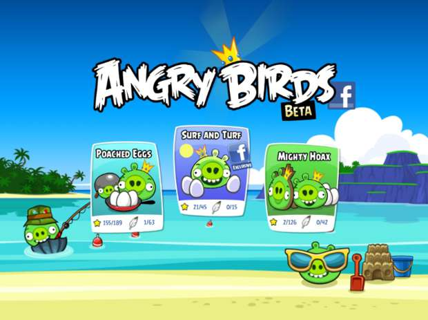 Angry Birds para Facebook (Foto - Divulga&#231;&#227;o)