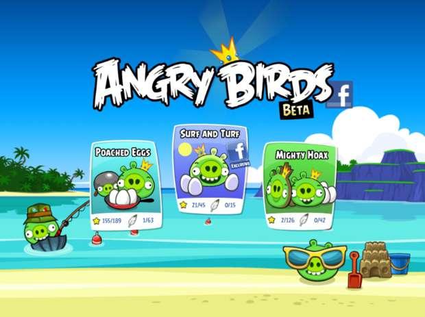 Angry Birds para Facebook (Foto - Divulgação)