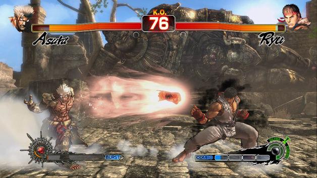 Asura vs. Ryu no primeiro DLC do jogo (Foto: Divulgação)