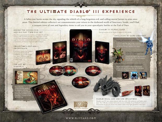 A edição de colecionador de Diablo III (Foto: Divulgação)