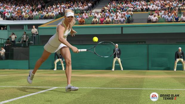 Maria Sharapova mostra toda sua forma e talento no game (Foto: Divulgação)