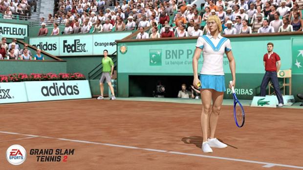 Martina Navratilova, ganhadora do Grand Slam em 1984, em seu traje clássico (Foto: Divulgação)