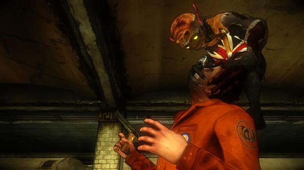 Darkling acompanha Jackie durante toda a história e pode executar ataques em conjunto (Foto: Divulgação)