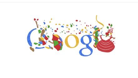 Doodle carnaval 2011 (Foto: Reprodução/Google)