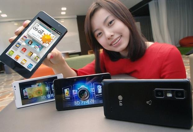 LG Optimus 3D Cube, com editor de vídeos 3D integrado (Foto: Reproução/LG)