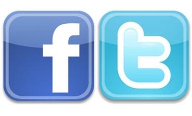 Facebook e Twitter: As principais redes sociais. (Foto/Reprodução)