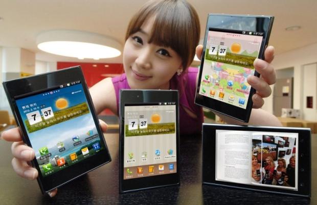 LG Optimus Vu foi anunciado oficialmente na Coreia (Foto: Divulgação)