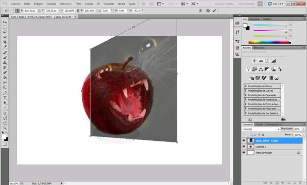 Fotomontagem (Foto: Reprodução/Isabela Catão)