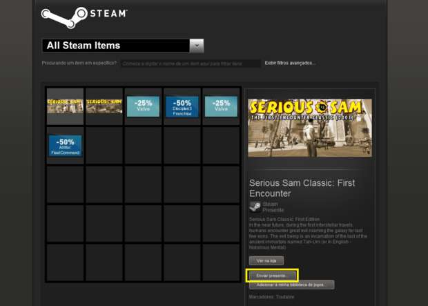 Steam (Foto - Divulgação) (Foto: Steam (Foto - Divulgação))