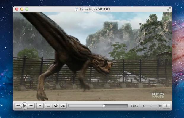 VLC 2.0 no Mac (Foto: Reprodução)