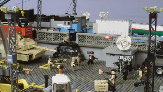Animação em LEGO relembra os melhores jogos de 2011 (Foto: Divulgação)