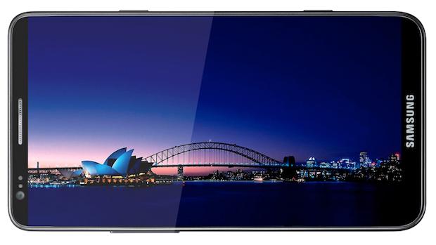 Foto de como ficaria o Galaxy S III, de acordo com as especificações informadas (Foto: Reprodução/BGR.com)
