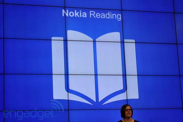 Com o Nokia Reading, é possível ter uma revista digital no celular (Foto: Engadget/Reprodução)