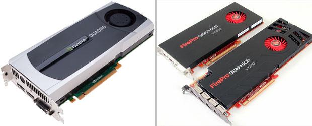 Entre os modelos voltados para os profissionais, Nvidia e AMD se enfrentam com as linhas Quadro e FirePro, respectivamente (Foto: Divulgação)