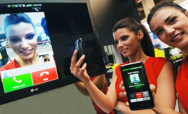 Novo conceito da LG trasforma uma ligação em videochamada com apenas um toque (Foto: Reprodução)
