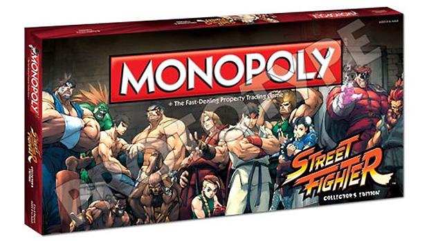Monopoly Street Fighter (Foto: Divulgação)