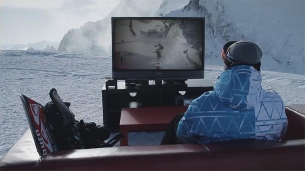Snowboarder joga SSX no topo do Monte Branco a -30°C (Foto: Divulgação)