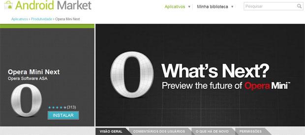 Nova versão do Opera promete aproveitar melhor a aceleração de hardware e o HTML5 (Foto: Reprodução)