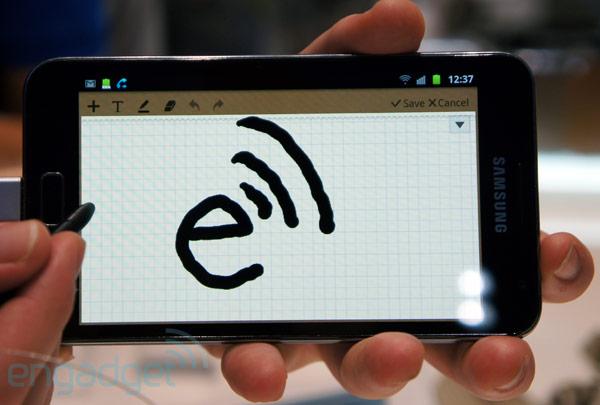 O anúncio mostra que a Samsung acredita no diferencial da caneta para o Galaxy Note (Foto: Divulgação)