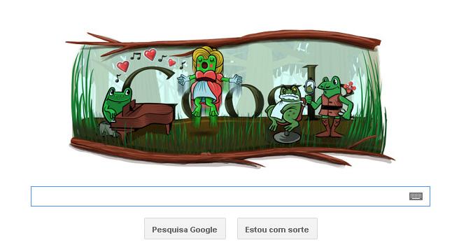 Doodle comemora o 220º aniversário de Gioachino Rossini e o ano bissexto (Foto: Reprodução)