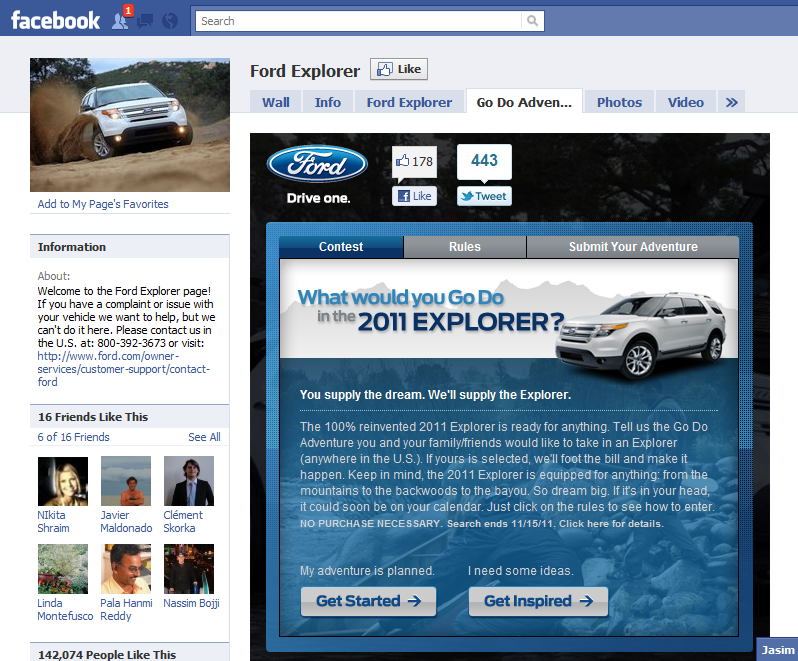Os funcionários das duas empresas tiveram 24 horas para criar os conceitos (Foto: Reprodução) (Foto: Reprodução/Facebook)