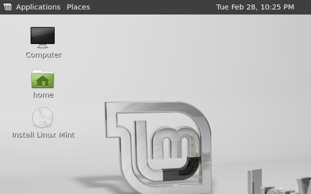 Instalando o Linux Mint (Foto: Reprodução/Helito Bijora)