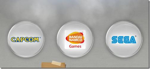 Capcom, Namco e Sega em placas de petri (Foto: Reprodução)