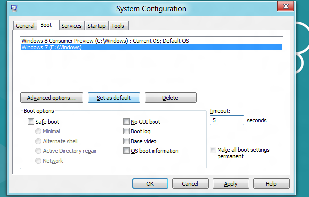 Utilitário de configuração do sistema (Foto: Reprodução/Helito Bijora)