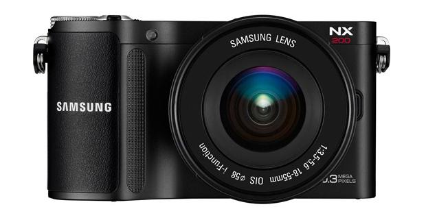 Samsung NX200 (Foto: Divulgação)