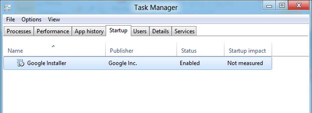 Removendo aplicativos da inicialização do Windows 8 (Foto: Reprodução/Paulo Higa)