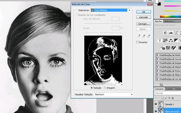 Tipografia no Photoshop (Foto: Reprodução/Isabela Catão)